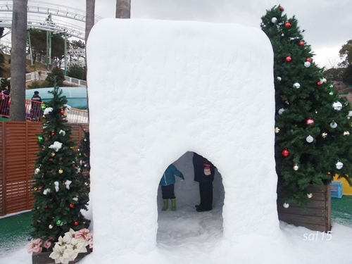 冒険の広場 雪