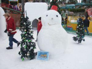 雪だるま スノーランド