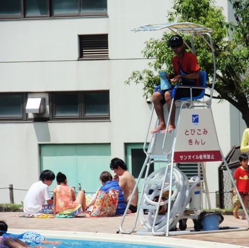 服部緑地プール (10)