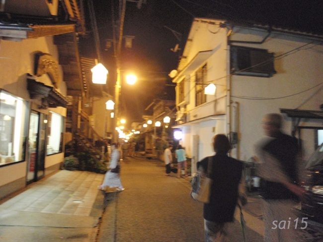 三朝温泉 繁華街 (7)