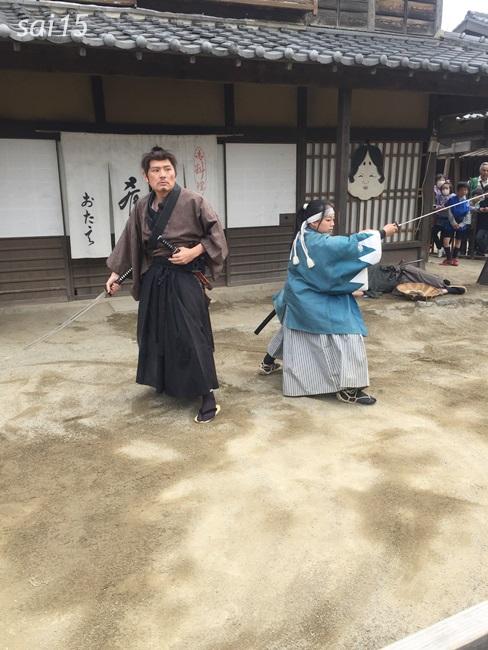 チャンバラ指南 京都太秦映画村 (20)