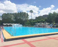 50Mプールは泳げる 堺市泉が丘プール